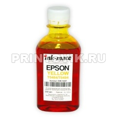 Ink-mate Чернила EIM-1500 Yellow для Epson R200/R220/RX500/RX600/RX700, 200 мл