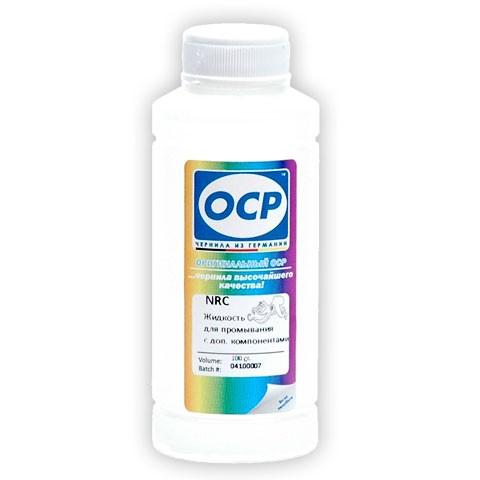 OCP Промывочная жидкость NRC с дополнительными компонентами, для промывки картриджей и печатающих головок, 100мл