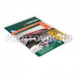 LOMOND Фотобумага самоклеющаяся матовая деленная для струйной печати А4, 2 деления, 25 листов
