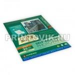 LOMOND Фотобумага самоклеющаяся матовая деленная для струйной печати А4, 4 деления, 25 листов