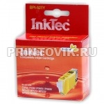 InkTec Картридж BPI-521Y (CLI-521Y) Yellow для Canon PIXMA iP3600, iP4600, MP540, MP620, MP630, MP980, MX860