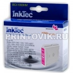 InkTec Картридж BCI-1000HM (LC1000M) Magenta для Brother 970, 57, 37, 960C, DCP-130C, 150C, 350C, 750CN, MFC-230C, 440CN, 660CN, 850CDN, 850CDWN