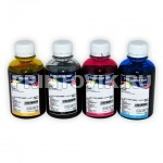 InkTec Набор чернил C5040-C5041 (Black, Cyan, Magenta, Yellow) для Canon MG2440, MG2540, G1400, G2400, G3400 (PG-445, CL-446, GL-490) (4 x 200 мл)