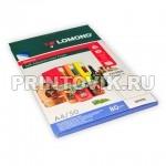 LOMOND Фотобумага самоклеющаяся глянцевая для лазерной печати 80 гр/м, А4, 50 листов