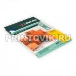 LOMOND Фотобумага самоклеющаяся для струйной и лазерной печати А4, 50 листов, Неон Желтая