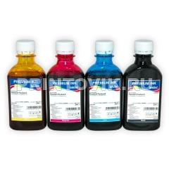 InkTec Набор чернил H1061 (Black, Cyan, Magenta, Yellow) для HP 122, HP 122XL, (4 x 200 мл)