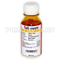 Ink-Mate Чернила CIM-521 Yellow для Canon CLI-226Y, 426Y, 481Y, 526Y, 726Y, 100 мл