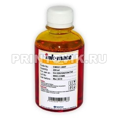 Ink-Mate Чернила CIM-521 Yellow для Canon CLI-226Y, 426Y, 481Y, 526Y, 726Y, 200 мл