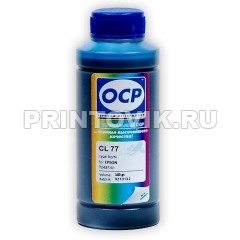 OCP Чернила CL77 Light Cyan для Epson R200/R220/R300/R320/R340/RX500/RX600, 100 мл