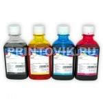 InkTec Набор чернил C2010-C2011 (Black, Cyan, Magenta, Yellow) для Canon PG-511, PG-512 (4 x 200 мл)