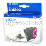 InkTec Картридж BCI-0985HM (LC985M) Magenta для Brother DCP-J125, J315W, J515W, MFC-J265W, J410