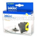 InkTec Картридж BCI-0985HY (LC985Y) Yellow для Brother DCP-J125, J315W, J515W, MFC-J265W, J410, J415