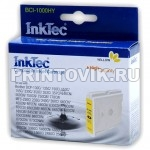 InkTec Картридж BCI-1000HY (LC1000Y) Yellow для Brother 970, 57, 37, 960C, DCP-130C, 150C, 350C, 750CN, MFC-230C, 440CN, 660CN, 850CDN, 850CDWN