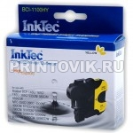 InkTec Картридж BCI-1100HY (LC1100Y) Yellow для Brother 980, 67, 65, 61, 38BK, DCP-145C, 385C, 585CW, 6690CW, MFC-250C, 290C, 790CW, 5490CN, 6490CN, 6890CDW