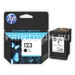 HP Картридж HP 123 (F6V17AE) Black для HP DeskJet 2130