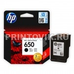 HP Картридж HP 650 (CZ101AE) Black для  HP Deskjet Ink Advantage 1015, 1515, 1516, 2515,  2516, 2545, 2645, 3515, 3545, 4515, 4645