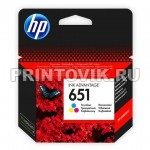 HP Картридж HP 651 (C2P11AE) Color для HP Deskjet Ink Advantage 5575, 5645