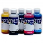 InkTec Набор чернил C9020-C9021 для Canon PIXMA iP3600/iP4600/MP540/MP620/MP630/MP980/MX860, (5 x 100 мл)